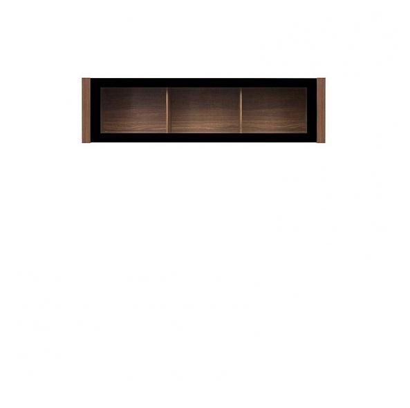 Vitrína na stenu - BRW - Venom - SFW1K